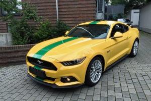 Ford Mustang Folierung